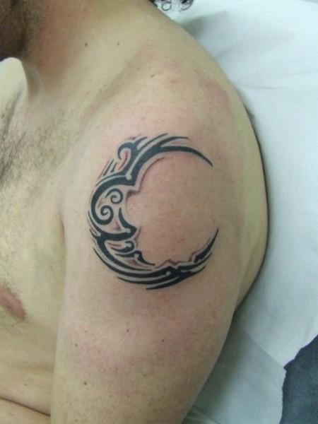 De Y Estrellas Tatuajes Lunas