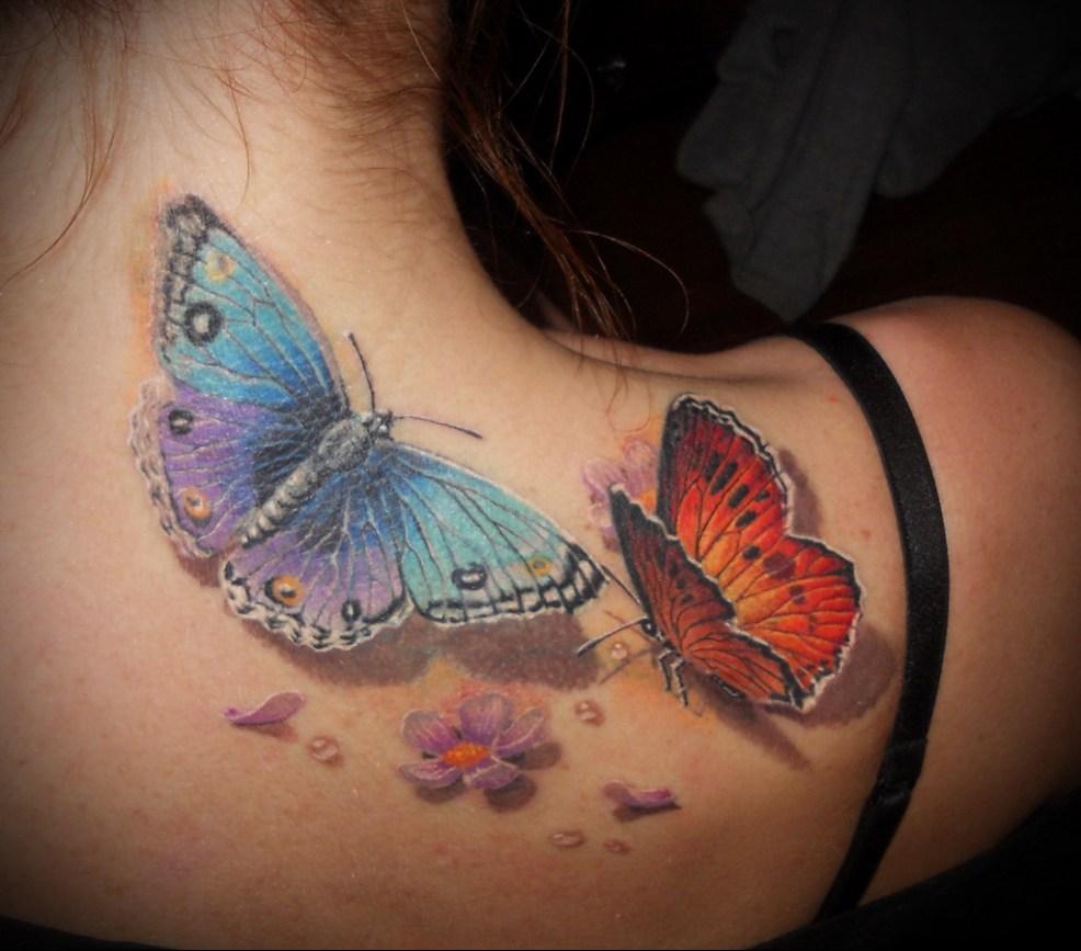 бабочка тату значение смысл история и фото татуировки