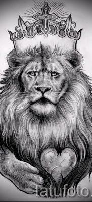 Значение тату лев с короной смысл история и примеры на фото