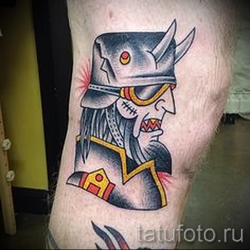 Фото пример татуировки байкеров для статьи про значение ...