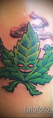 Значение тату конопля (марихуана): смысл, история, фото ...