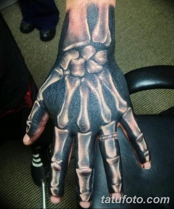 фото тату кости от 23.09.2017 №041 - bone tattoo ...