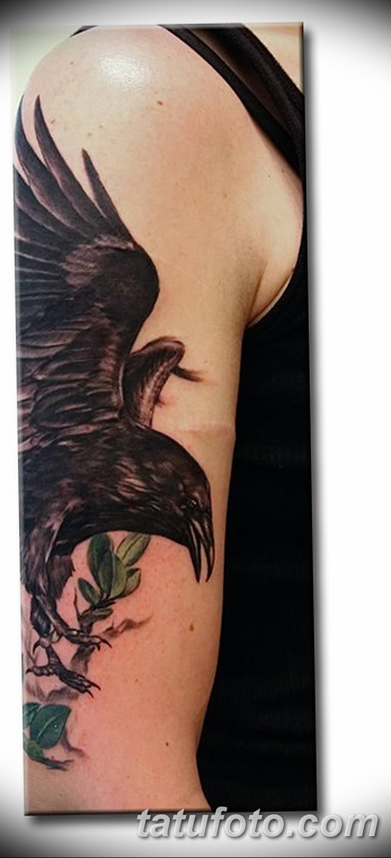 фото тату ворон от 15092018 203 Raven Tattoos Tatufotocom