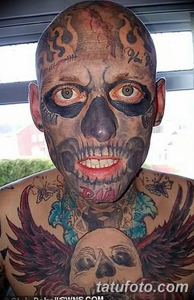 отец двух детей потратил 28000 на 250 татуировок и продолжает