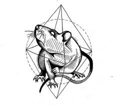 Татуировка Крыса | Значения | 96 фото и эскизов — Лучшая ...
