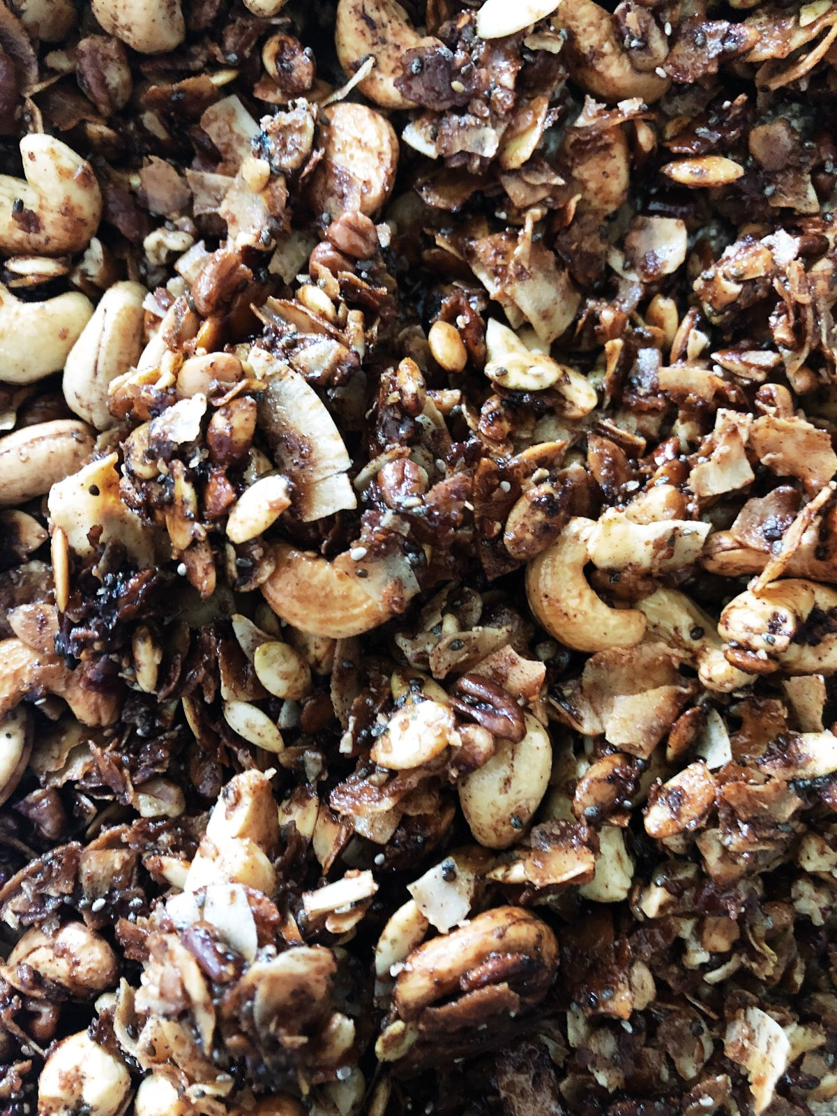 Image of toasted coconut granola