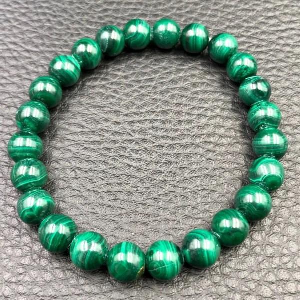 Bracelet Malachite 8mm