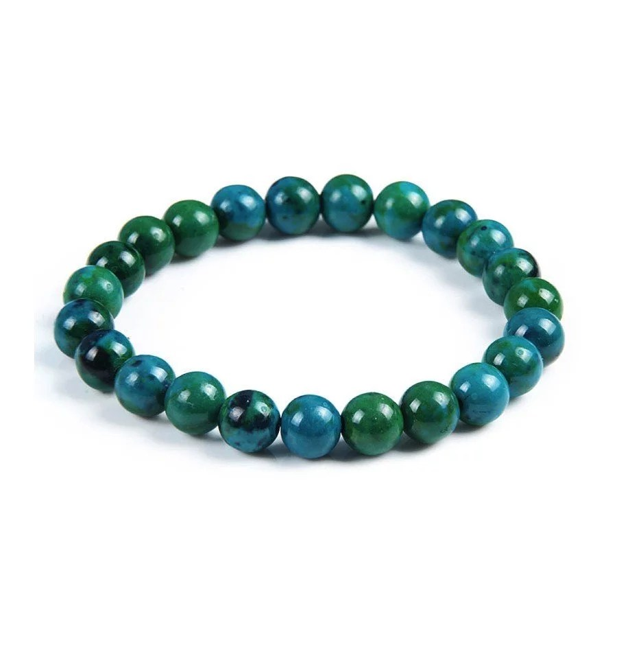 Bracelet Chrysocolle 8mm