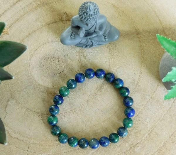 Bracelet Azurite-Malachite