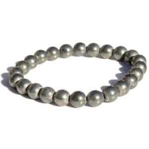 Bracelet pyrite 8mm