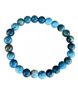 Bracelet apatite bleu