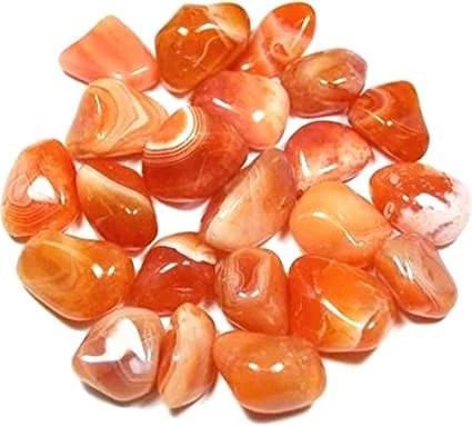 Cornaline pierres roulées