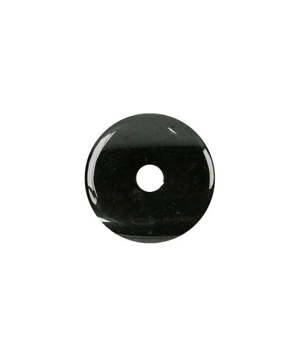 Donuts en tourmaline noir