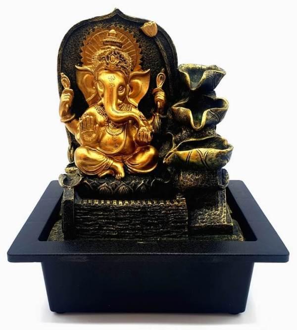 Fontaine Résine Ganesh & Cascade Design 27cm