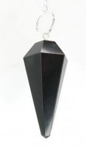 Pendule Cônique Obsidienne Noire