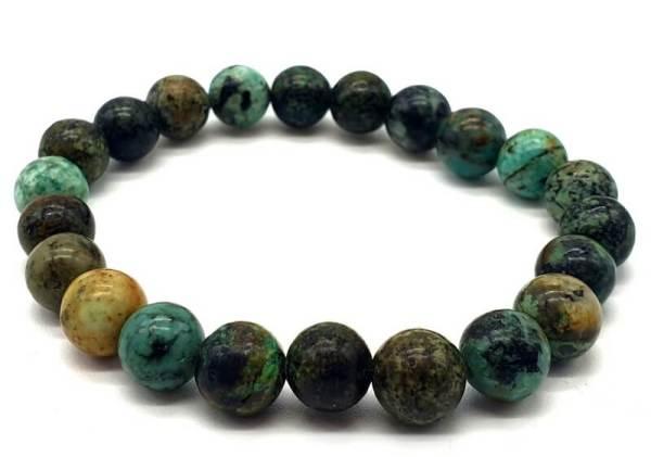 Bracelet Turquoise Africaine 8mm
