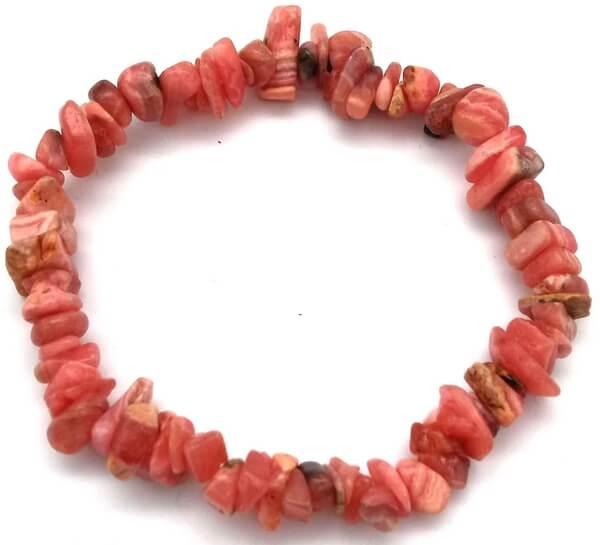 Bracelet Baroque Rhodochrosite 'AA'