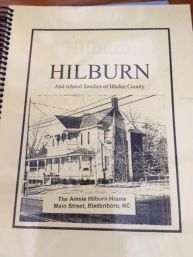 Hilburn House History Book