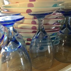 Modern Glassware and Dishes