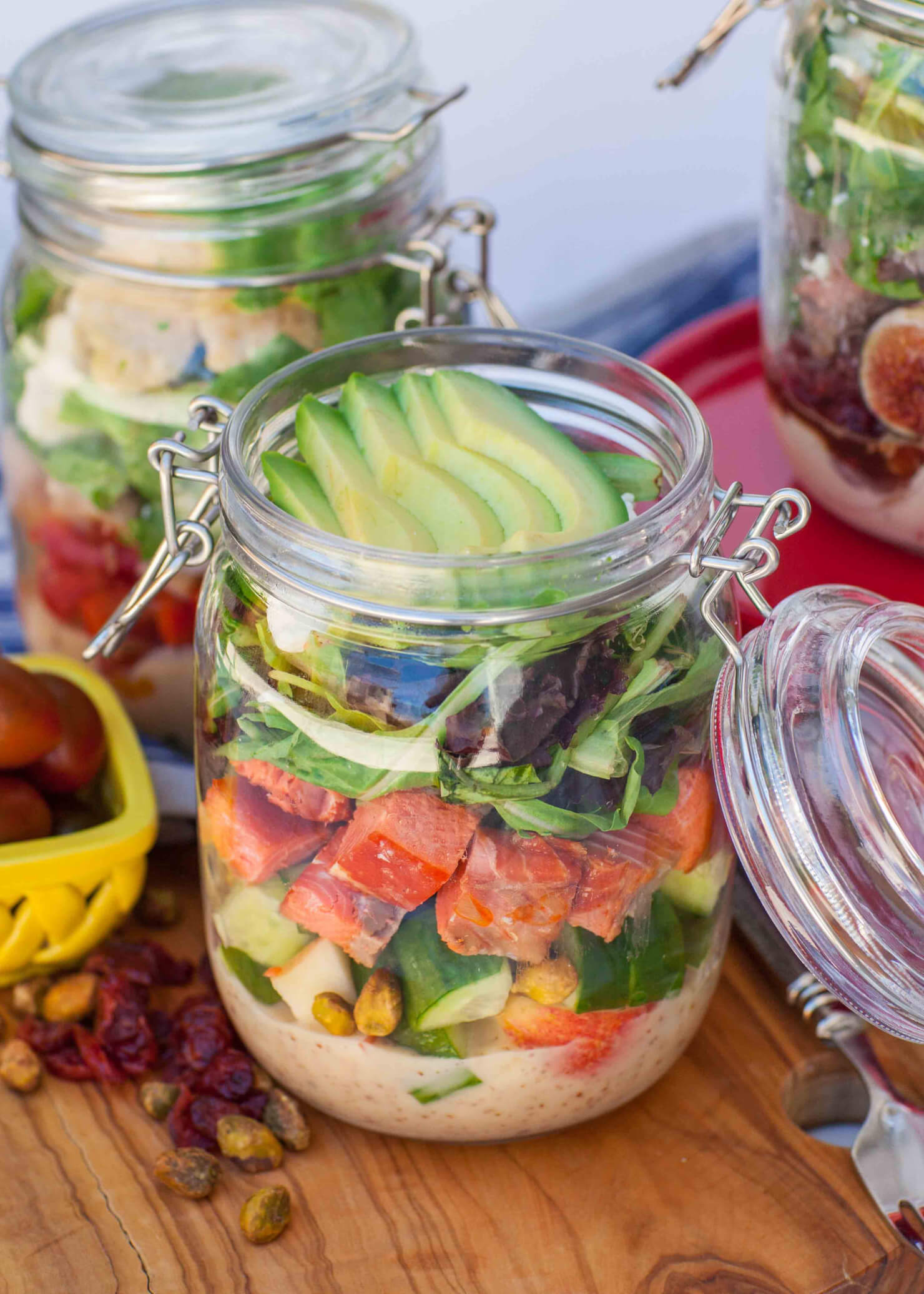 Mason Jar Salad Kits Tatyanas Everyday Food