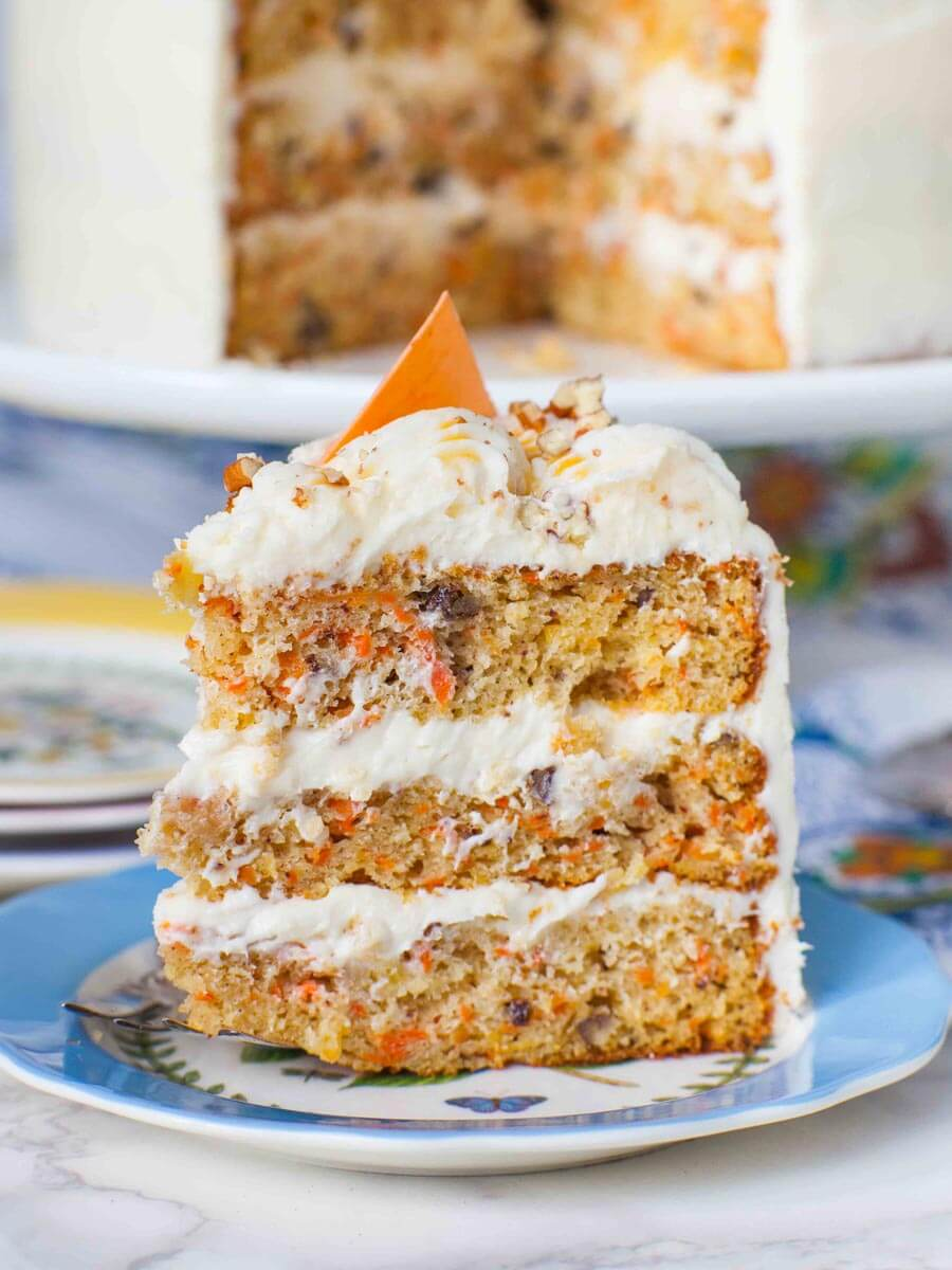 Pineapple Carrot Cake With Pecans Video Tatyanas
