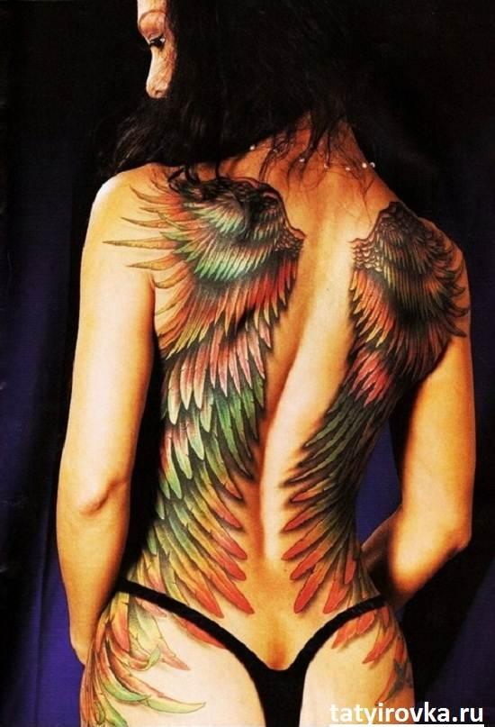 Тату-крылья-и-их-значение-13