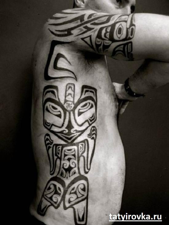 Черно-белые-татуировки-и-их-значение-5