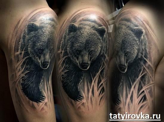 Тату-медведь-и-их-значение-2