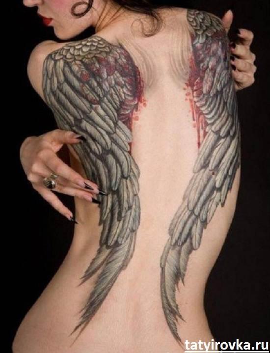 Тату-крылья-и-их-значение-12