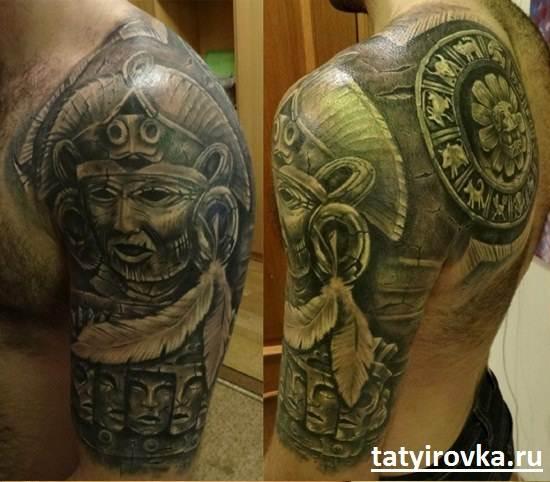 Черно-белые-татуировки-и-их-значение-4