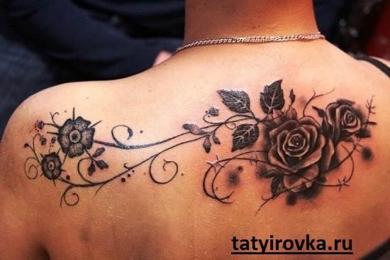 Черно-белые-татуировки-и-их-значение-12