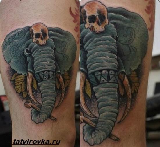 Тату-слон-и-их-значение-10