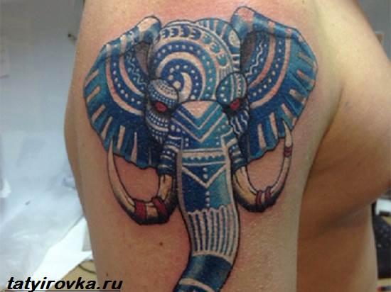Тату-слон-и-их-значение-8