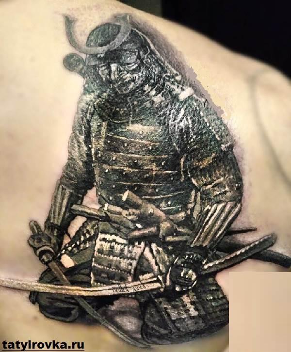 Тату-самурай-Значение-тату-самурай-Эскизы-и-фото-тату-самурай-11