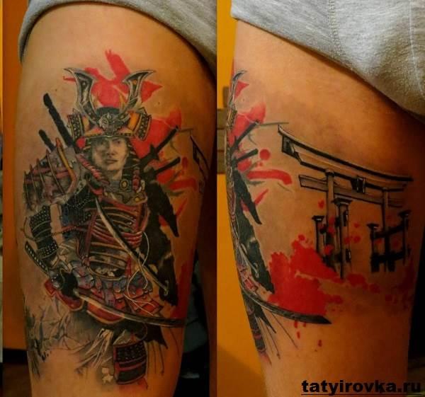 Тату-самурай-Значение-тату-самурай-Эскизы-и-фото-тату-самурай-6
