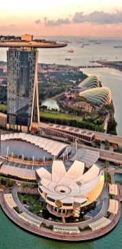 Gardens by the Bay, Singapore Central Singapore - Aerial photography, Cityscape, Infrastructure, Landmark
