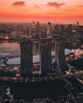 Gardens by the Bay, Singapore Central Singapore - Aerial photography