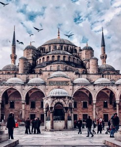 The Blue Mosque, Fatih Istanbul Turkey - Byzantine architecture, Dome, Holy places, Mosque