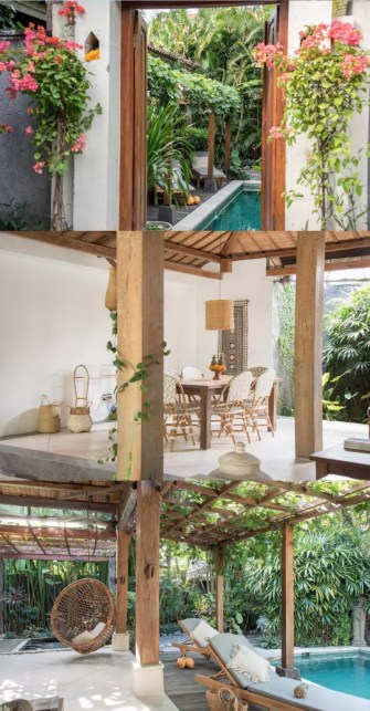 Canggu, North Kuta Bali Indonesia - Chair, Flowerpot, Houseplant, Outdoor furniture, Outdoor structure, Outdoor table, Patio, Plant, Shade, Table