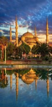 The Blue Mosque, Fatih Istanbul Turkey - Dome, Mosque, Reflection