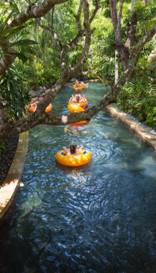 Waterbom, Kuta Bali Indonesia - Body of water, Creek, Garden, Outdoor structure, Pond, Riparian zone, Stream, Swimming pool, Water, Water feature, Water resources, Watercourse