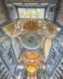 Hagia Sophia, Fatih Istanbul Turkey - Byzantine architecture, Classical architecture, Dome, Holy places, Mosque, Place of worship, Symmetry