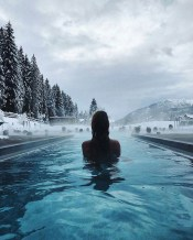 Trentino, Italy - Body of water, Cloud, Person, Sky, Tree, Water, Water resources