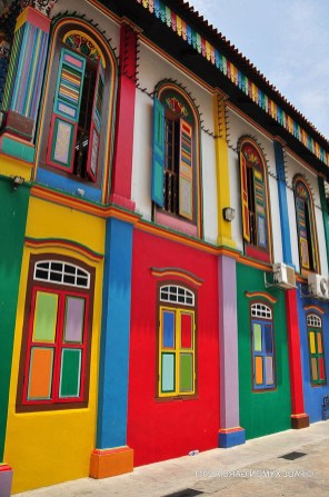 Little India, Singapore Central Singapore - Colorfulness, Window