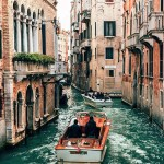 San Marco, Venice  Italy - Boat, Building, Person, Sky, Travel, Vehicle, Water, Watercraft, White, Window