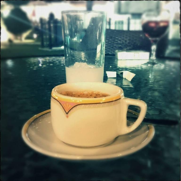 Kaffee und Rak