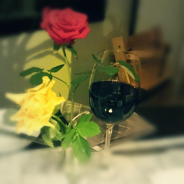 Rosen und Wein