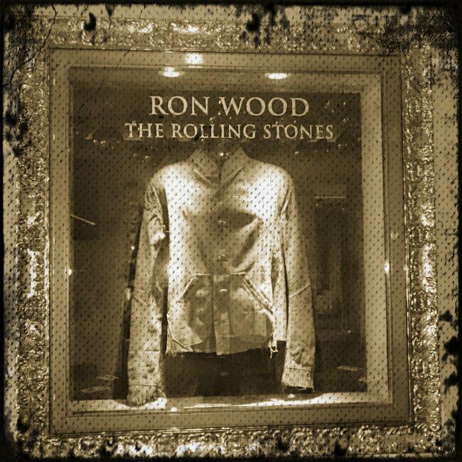 Ron Woods' jacket @ HRC Ibiza