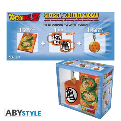 DRAGON BALL - MUG 320ML + PORTACHIAVI + NOTEBOOK DRAGON BALL