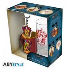 HARRY POTTER - MINI-MUG + PORTACHIAVI + BICCHIERE